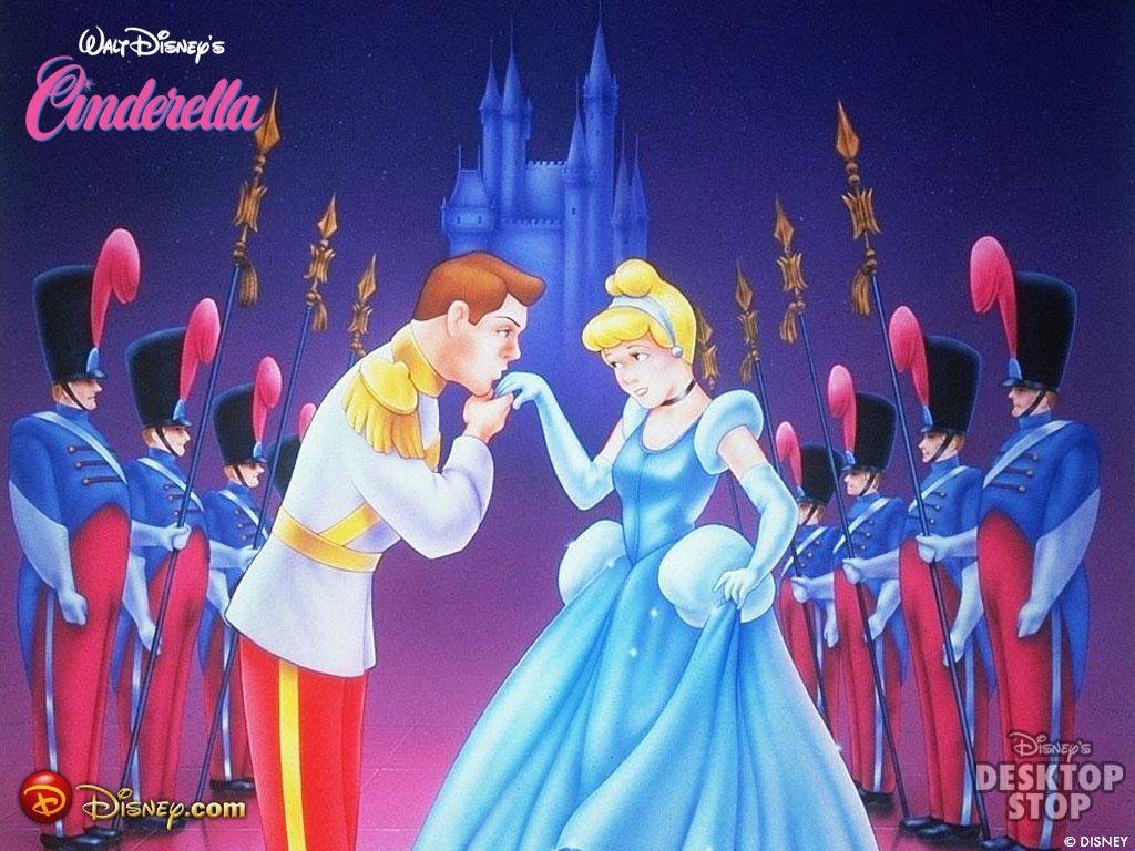 Prince kissing princess cinderella disney cinderella