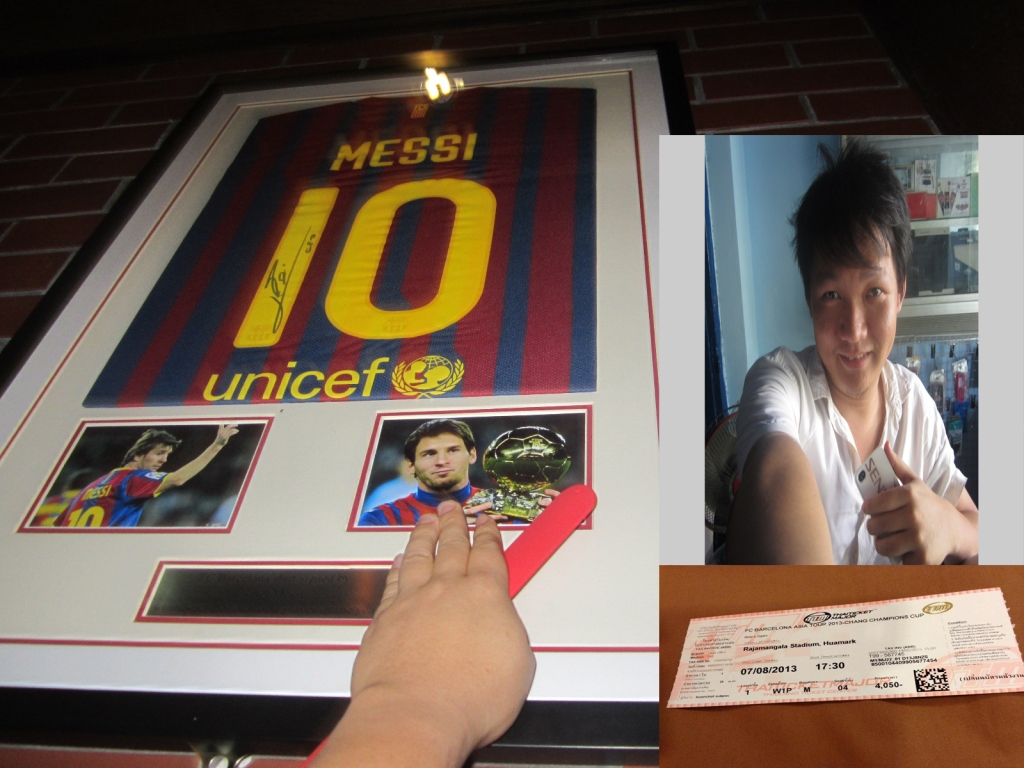barca ticket thailand