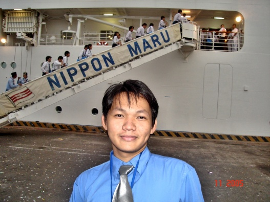 infront of nippon maru